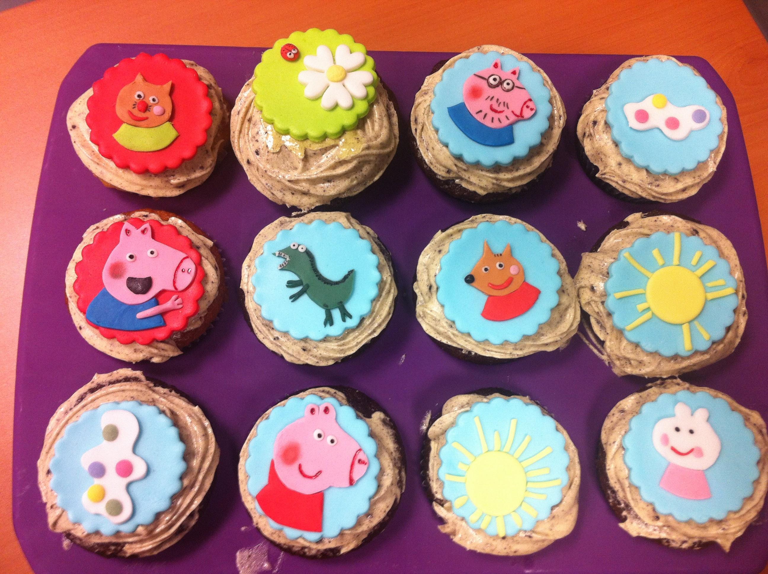 Peppa Pig Cupcakes  Cupcakes de Peppa Pig – Sweet Rosita