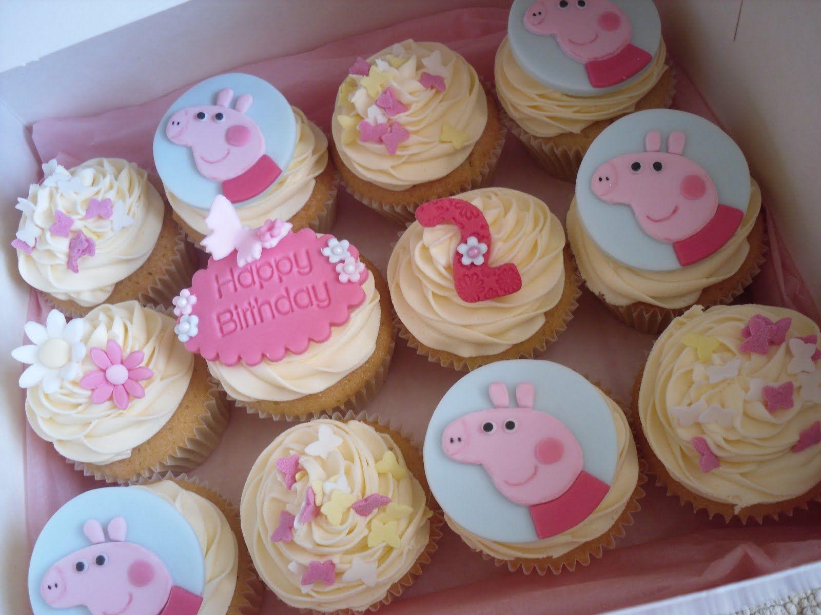 Peppa Pig Cupcakes  Cute Cupcakes Peppa Pig Cut out