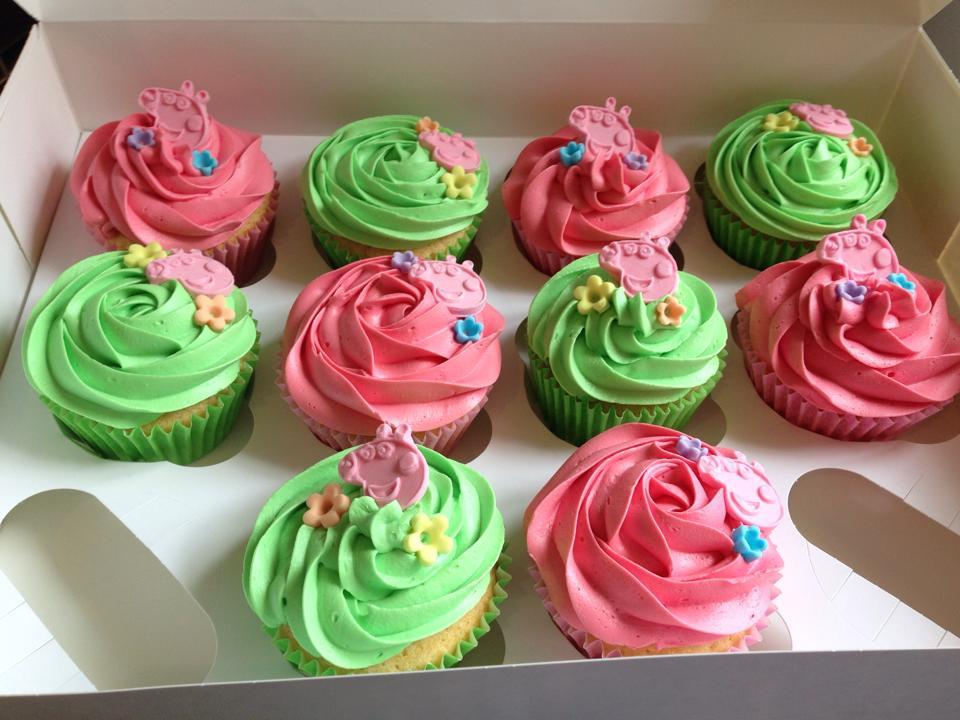Peppa Pig Cupcakes  Gallery