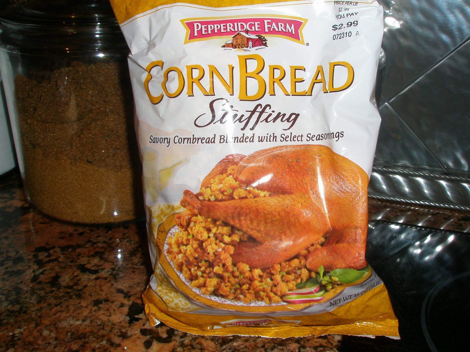 Pepperidge Farm Cornbread Stuffing  Gabby s Goo s Make Ahead Easy Turkey Day