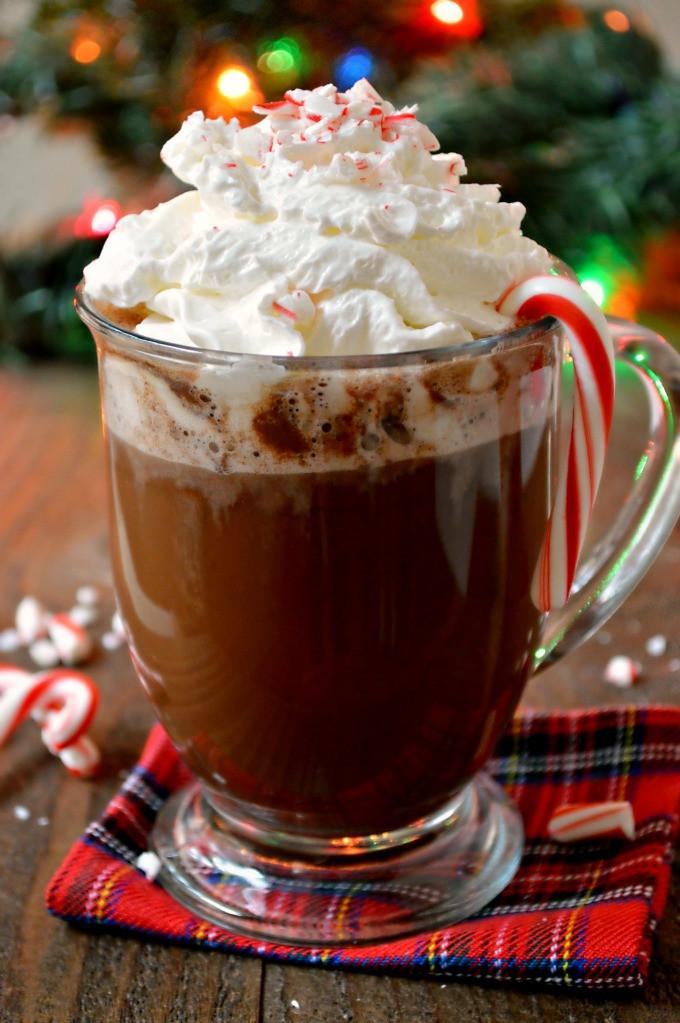 Peppermint Hot Chocolate  Homemade Peppermint Hot Chocolate