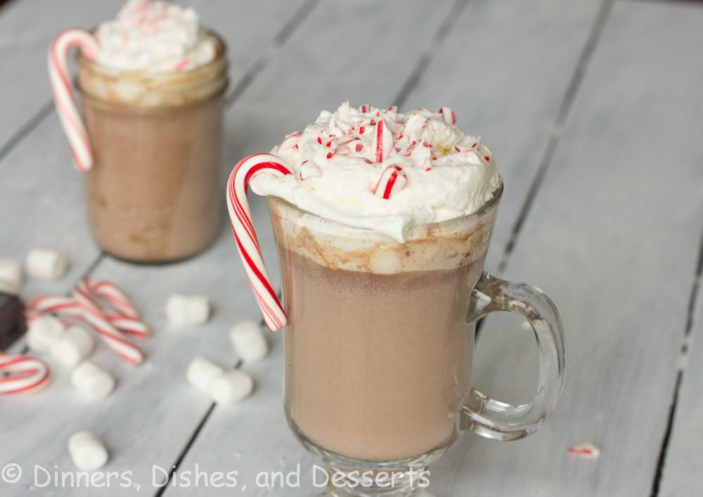Peppermint Hot Chocolate  Peppermint Hot Chocolate ChristmasWeek