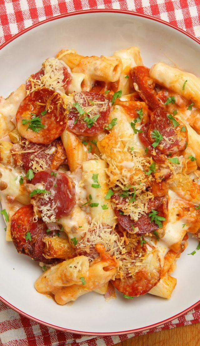 Pepperoni Pizza Casserole  Pizza Casserole Recipe Food e licious