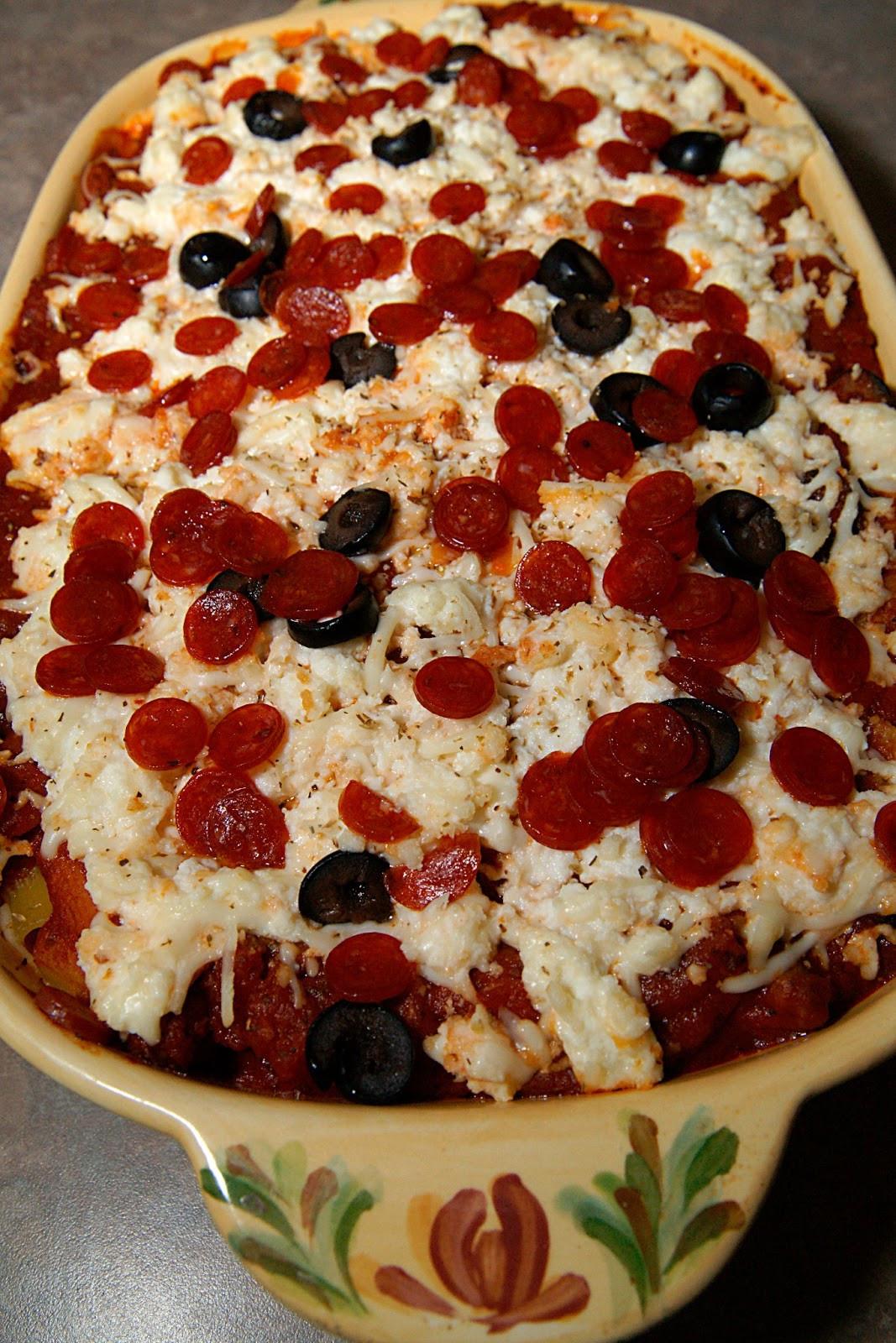 Pepperoni Pizza Casserole  Savory Sweet and Satisfying Pepperoni Pizza Casserole