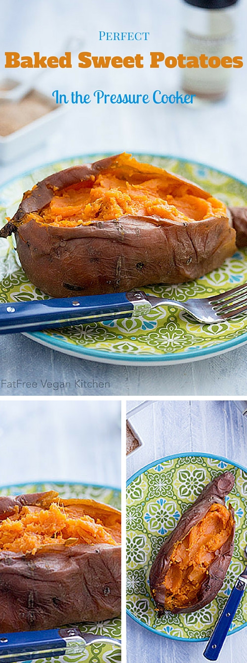 Perfect Baked Sweet Potato  Perfect Baked Sweet Potatoes in the Pressure Cooker and