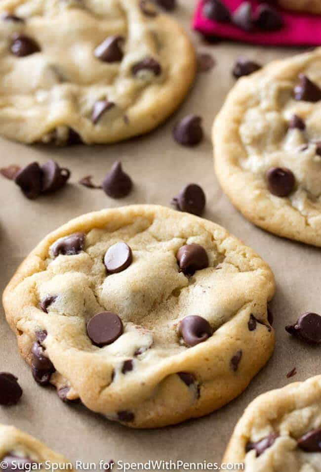 Perfect Chocolate Chip Cookies  Perfect Chocolate Chip Cookies Homemade Spend With Pennies