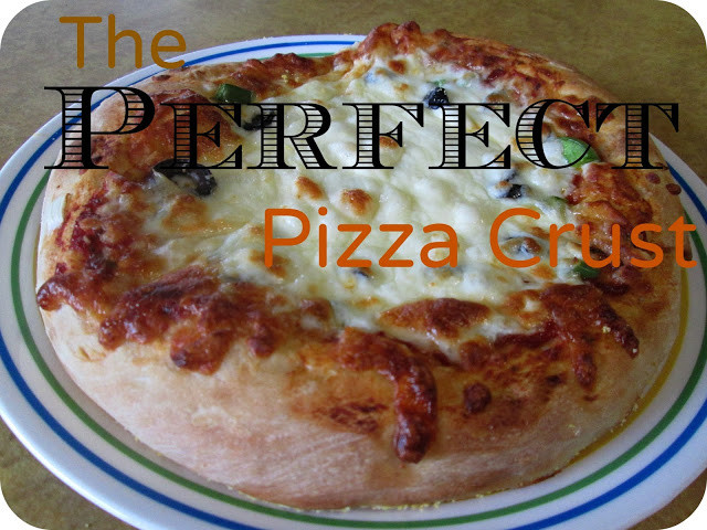 Perfect Pizza Dough  THE REHOMESTEADERS The Perfect Pizza Crust