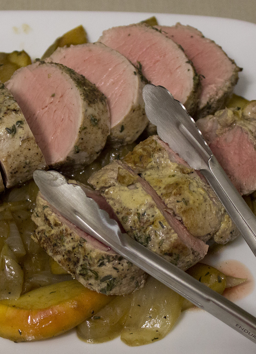 Perfect Pork Tenderloin  Perfect Pork Tenderloin with Apples & ions