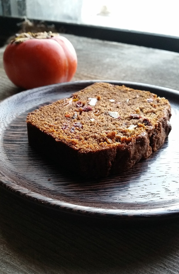 Persimmon Bread Recipe  Persimmon Bread with Nuts and Fruit Hunter Angler