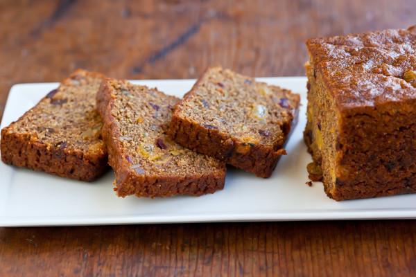 Persimmon Bread Recipe  Whole Wheat Persimmon Bread with Walnuts and Brandy