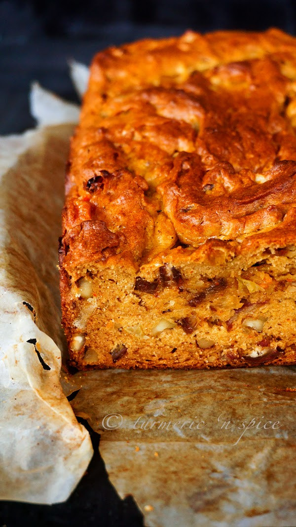 Persimmon Bread Recipe  Turmeric n spice James Beard s Persimmon Bread