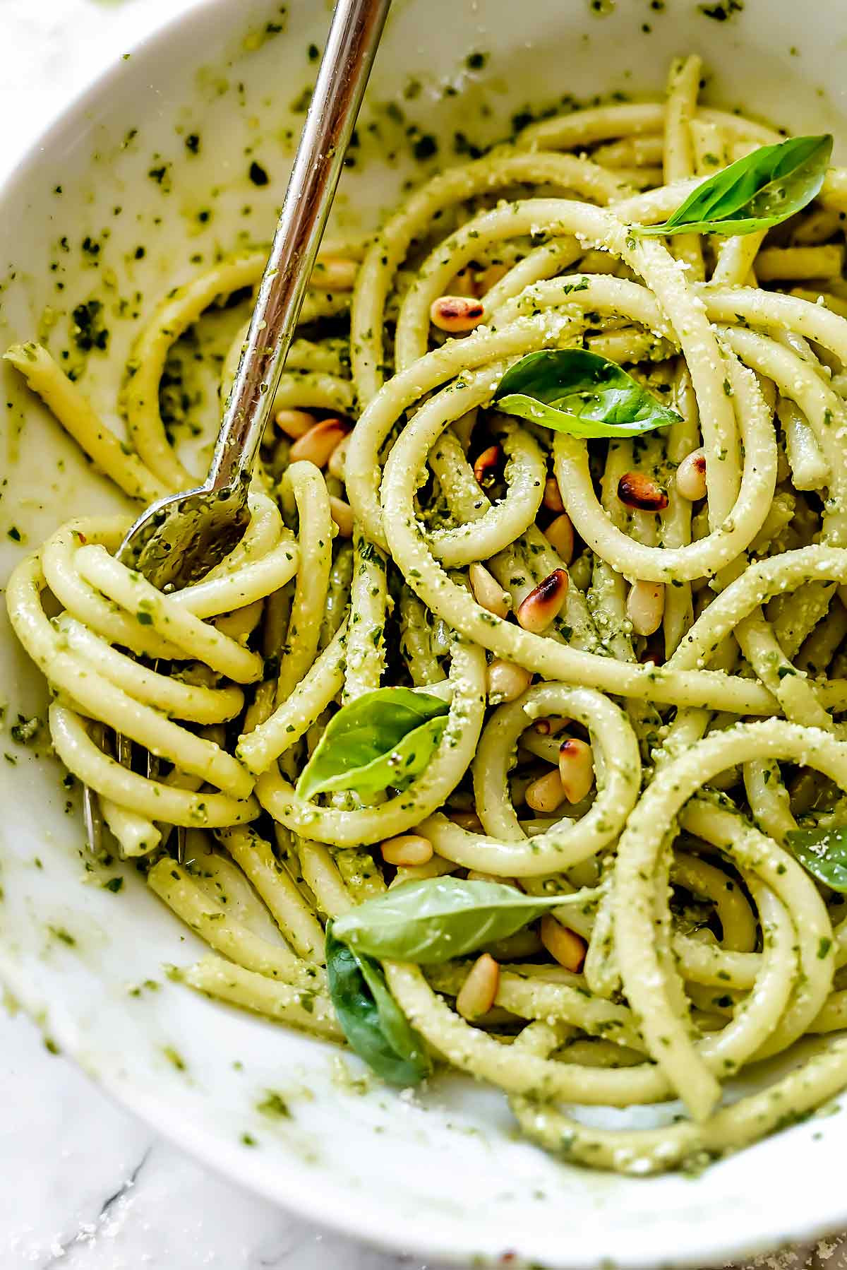 Pesto Sauce Pasta  Easy Homemade Pesto Pasta Recipe