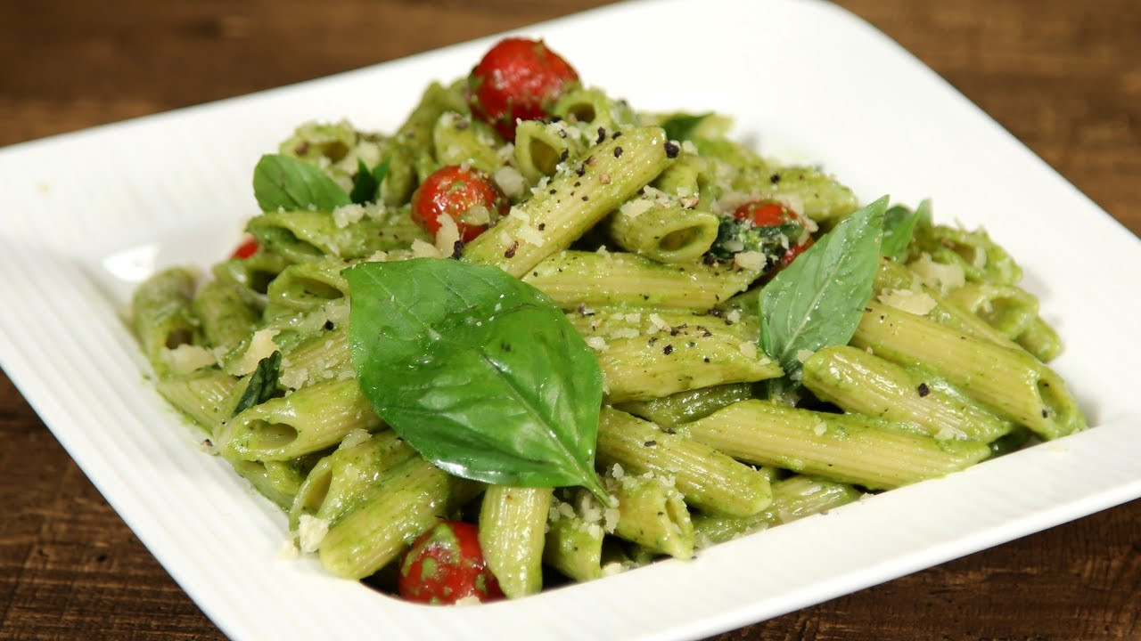 Pesto Sauce Pasta  How To Make Pesto Pasta