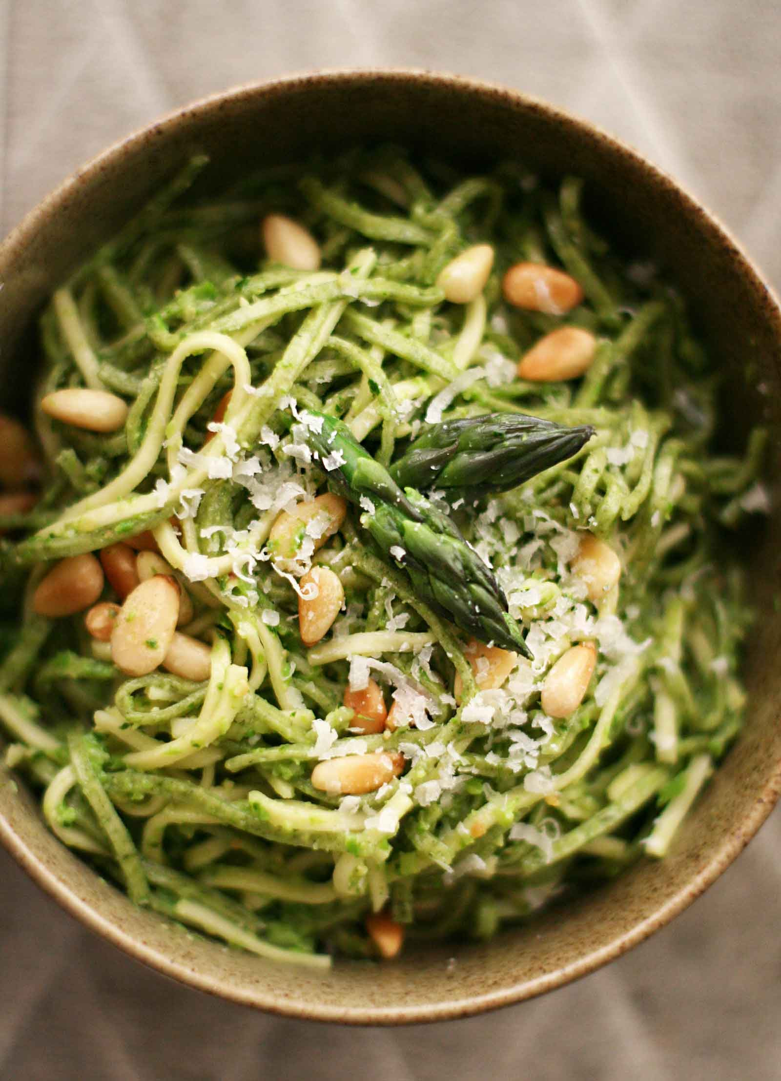 Pesto Sauce Pasta  Asparagus Pesto with Pasta Recipe