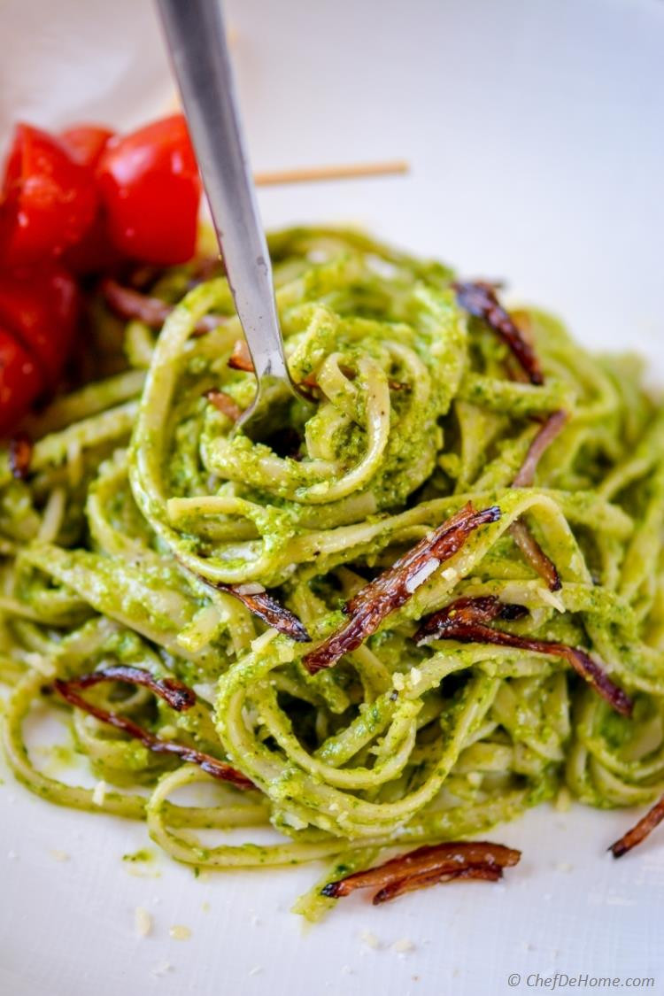 Pesto Sauce Pasta  Creamy Pesto Pasta Recipe