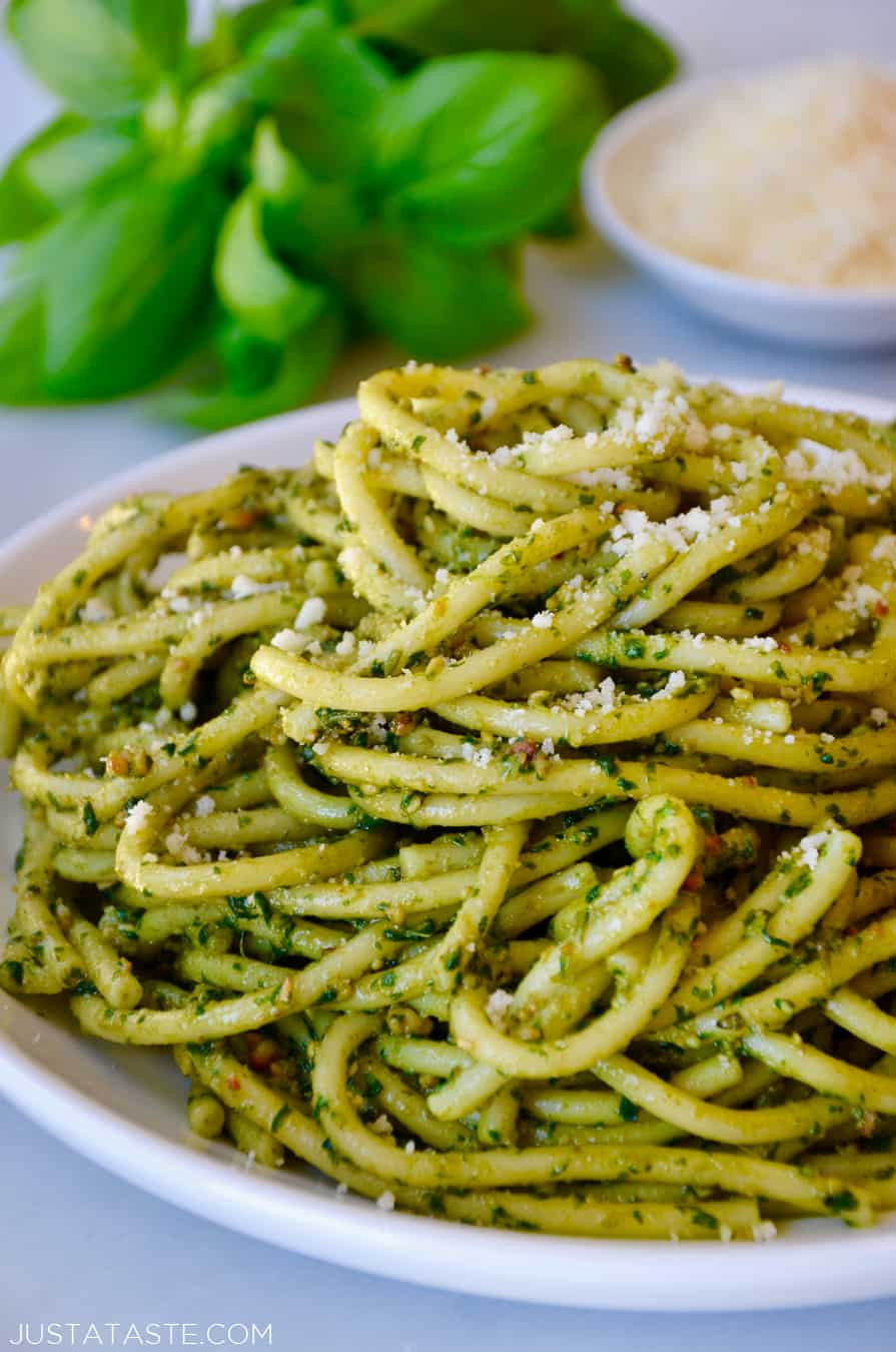 Pesto Sauce Pasta  The Best Basil Pesto Pasta