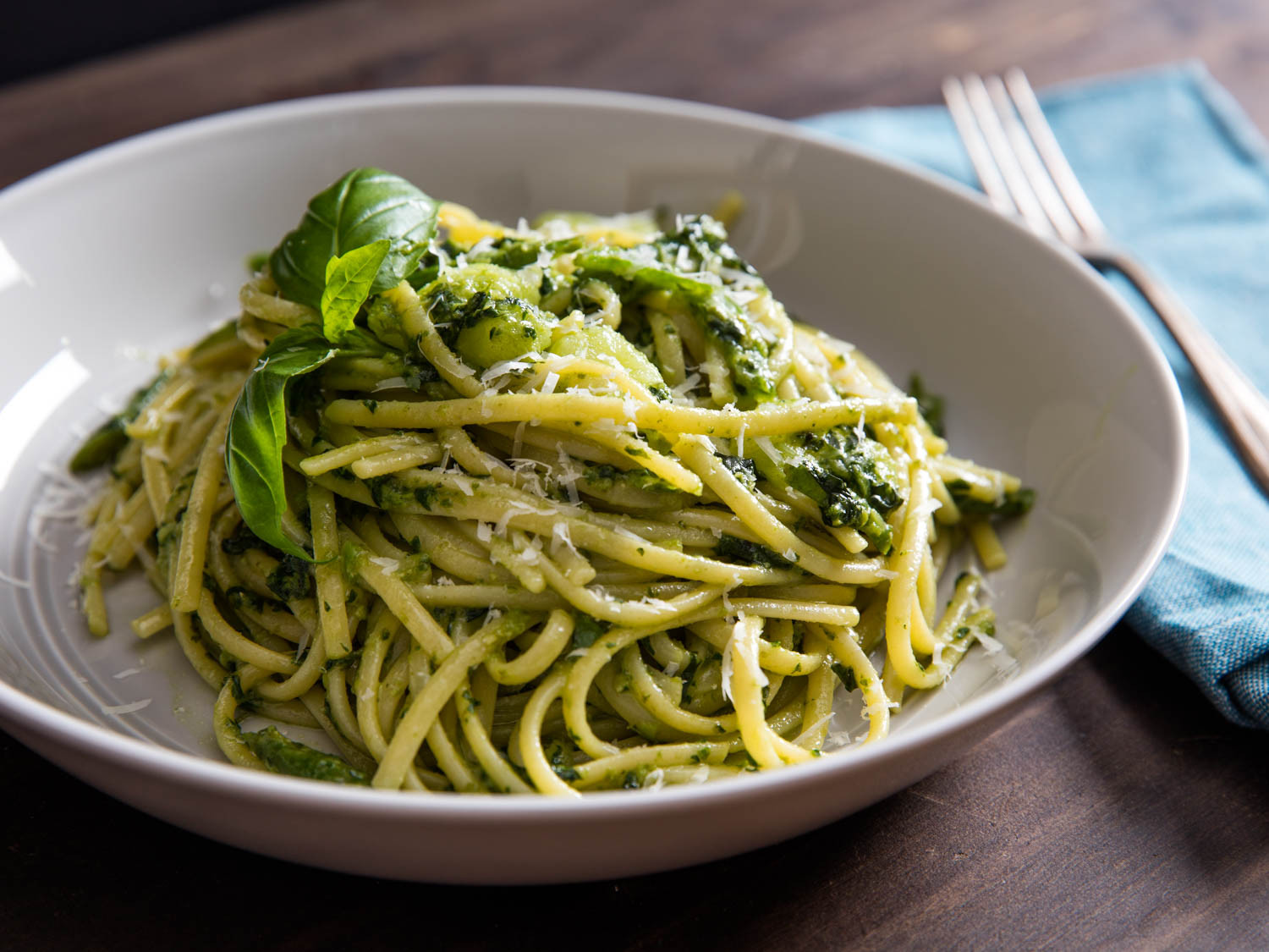 Pesto Sauce Pasta  The Right Way s to Serve Pesto on Pasta