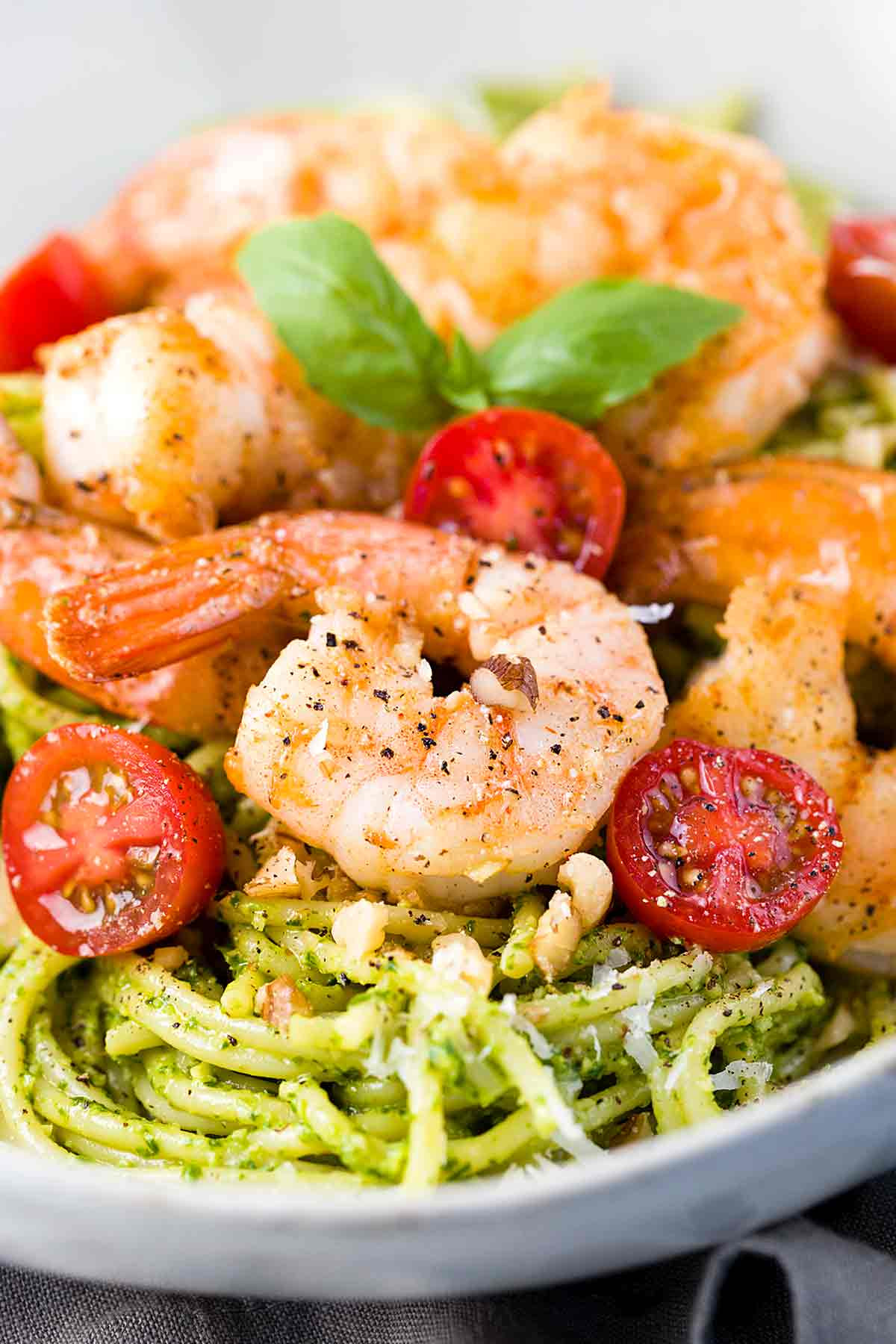 Pesto Shrimp Pasta  30 Minute Pesto Shrimp Pasta Recipe