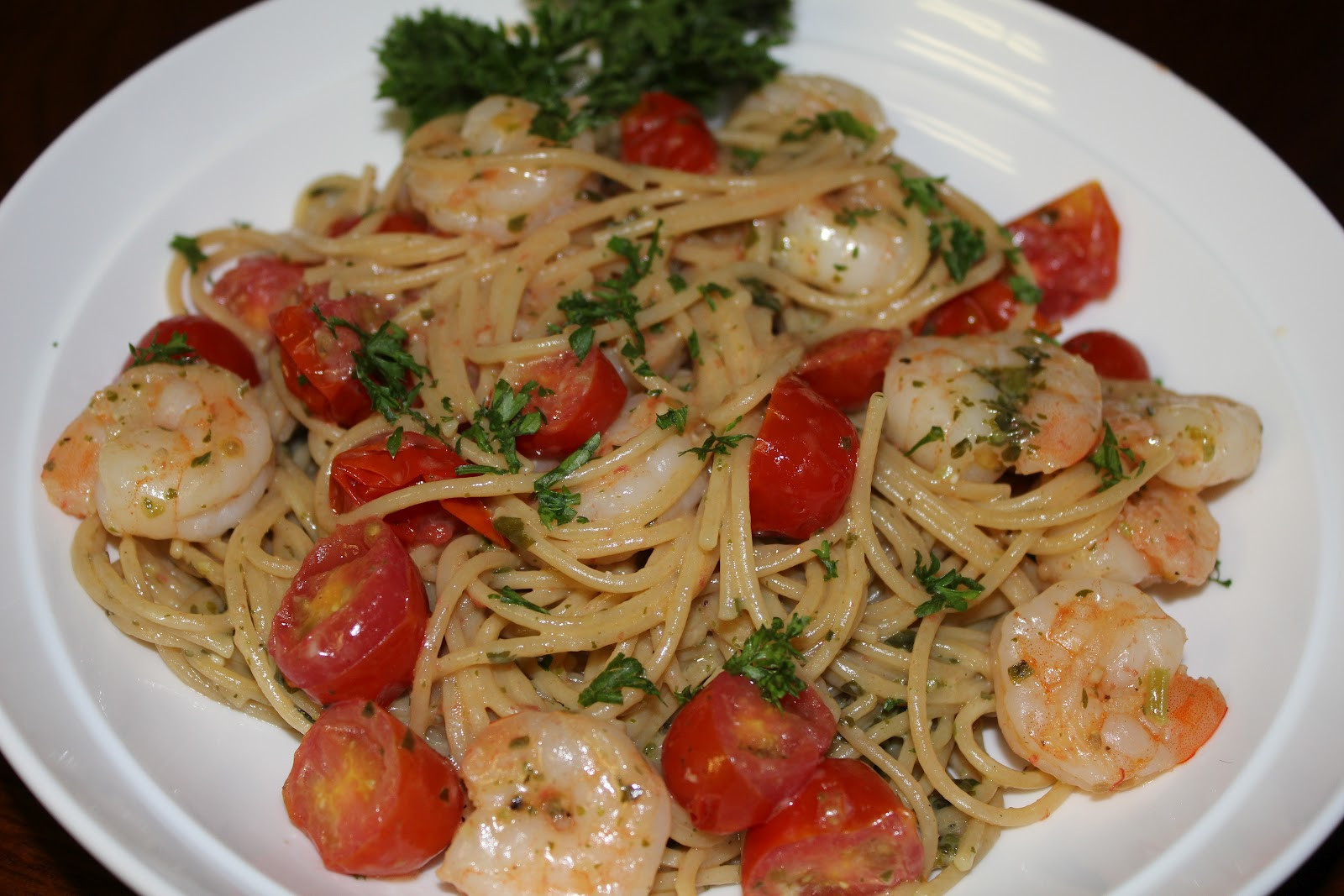 Pesto Shrimp Pasta  simply made with love Pesto Shrimp Pasta