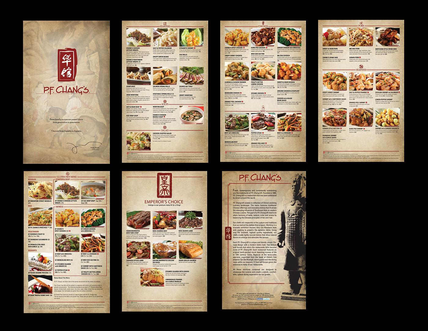 Pf Changs Dessert Menu  Pf Changs Menu Nutritional Value Nutrition Ftempo