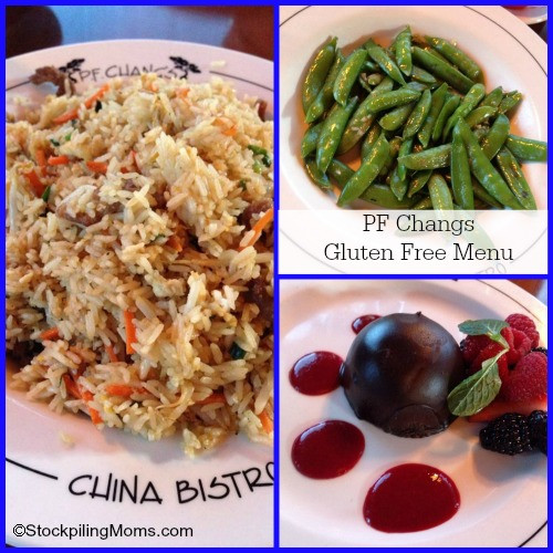 Pf Changs Dessert Menu  Gluten Free Menu at PF Changs