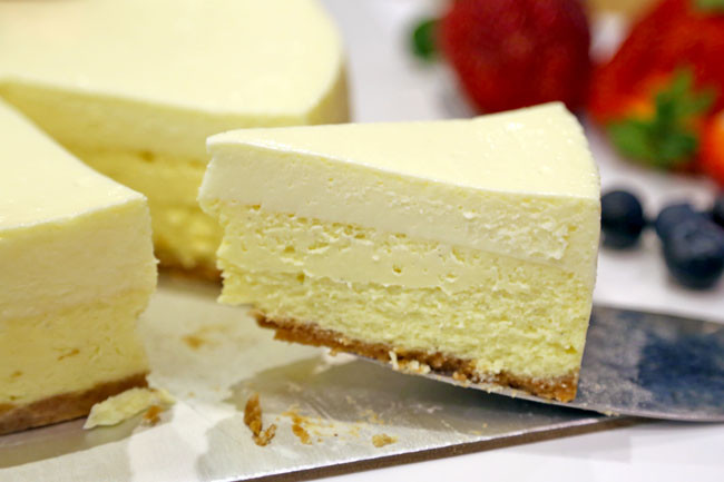 Philadelphia Cream Cheese Cheesecake Recipe  PHILADELPHIA New York Style Sour Cream Cheesecake Recipe