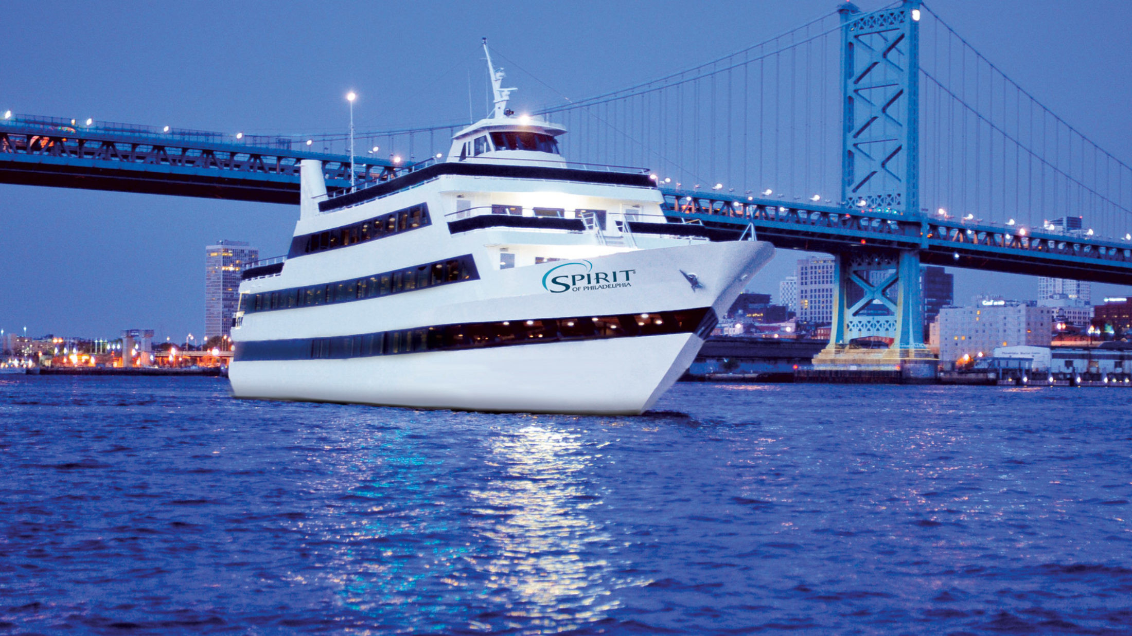Philadelphia Dinner Cruise  Spirit of Philadelphia — Visit Philadelphia