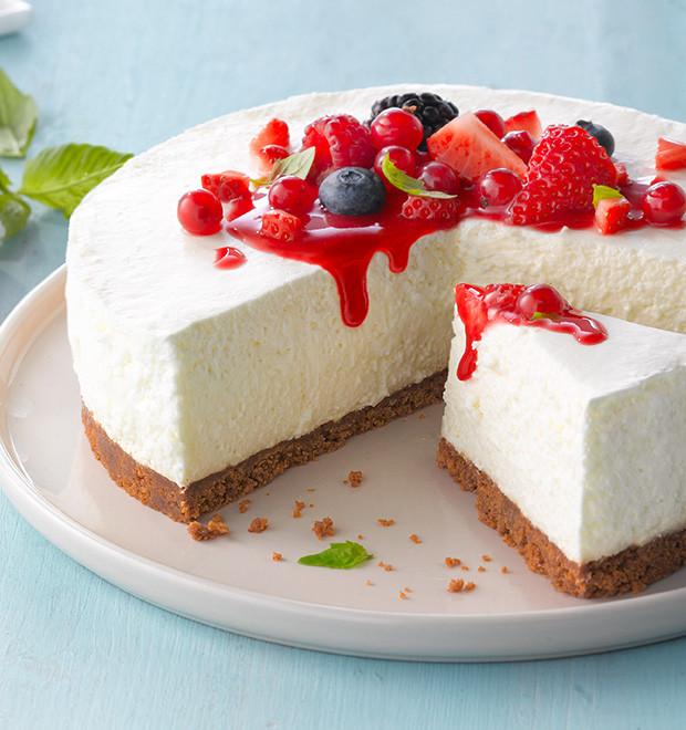 Philidelphia Cream Cheesecake Recipe  Philadelphia Soft Cream Cheese Products and Recipes UK