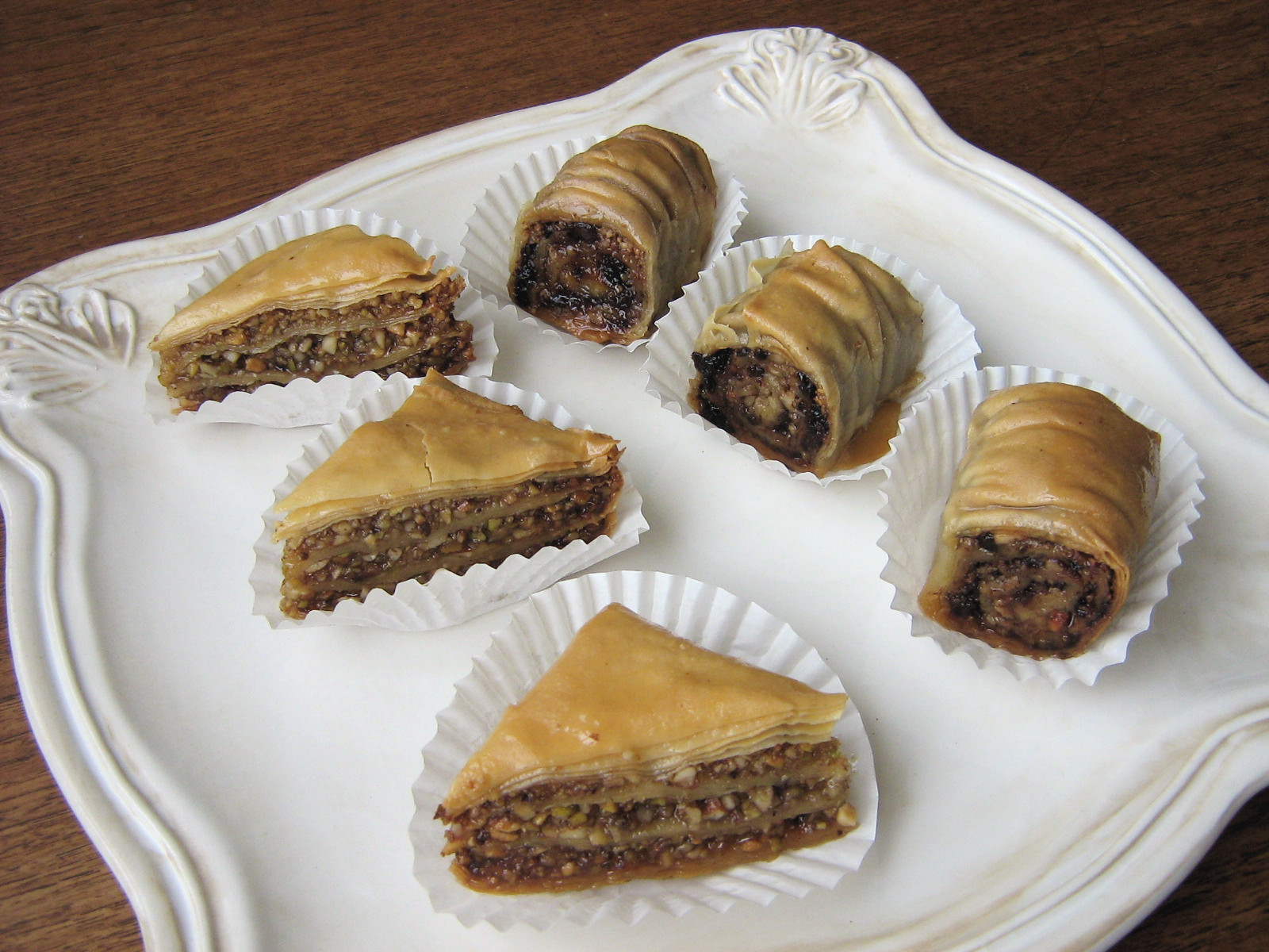 Phyllo Dough Dessert Recipes  Daring Bakers Baklava with Homemade Phyllo Pastry