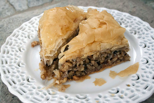 Phyllo Dough Desserts Recipes  Baklava Recipe with Trader Joe s Phyllo Dough Cooking