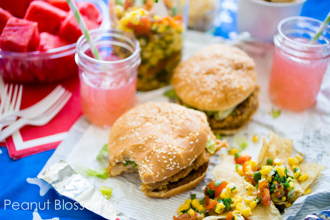 Picnic Desserts For Hot Weather  The perfect picnic menu spicy chicken sandwiches with