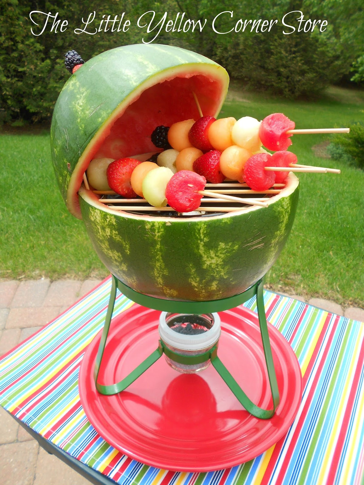 Picnic Desserts For Hot Weather  The Little Yellow Corner Store Backyards BBQs and Picnics