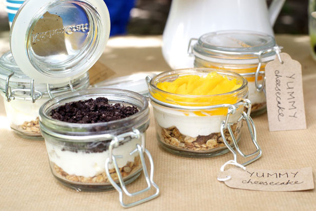 Picnic Desserts For Hot Weather  Minichefs cheesecake in a jar