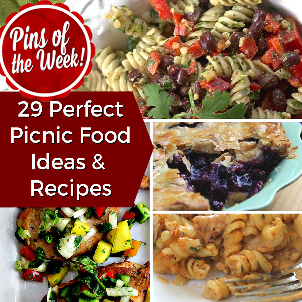 Picnic Dinner Ideas  29 Perfect Picnic Food Ideas & Recipes Pins of the Week