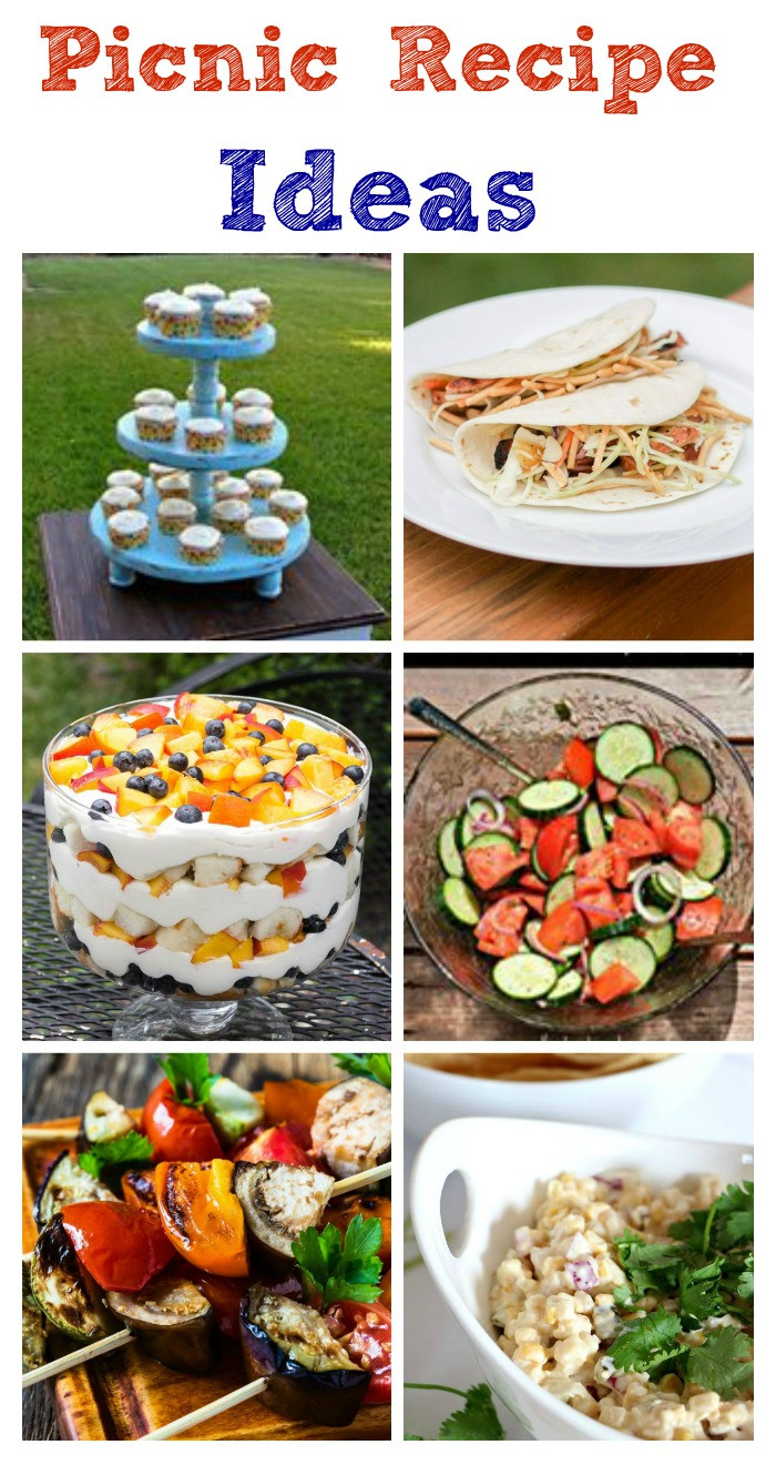 Picnic Dinner Ideas  Picnic Recipe s And Ideas My Un mon Slice of Suburbia