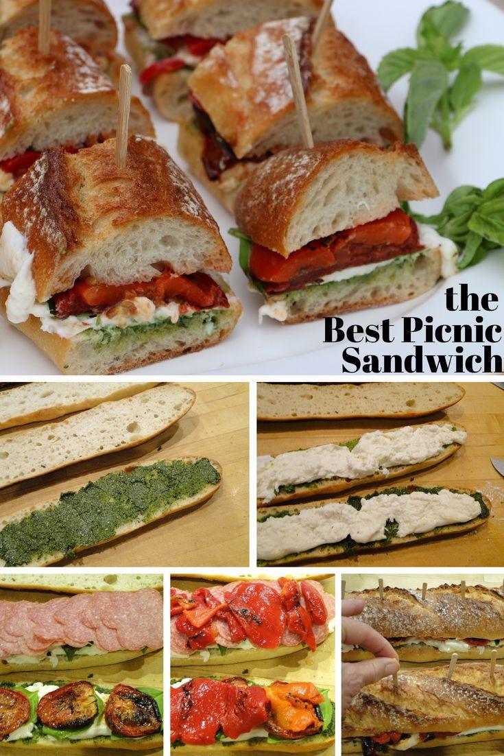 Picnic Dinner Ideas  The 25 best Picnic sandwiches ideas on Pinterest