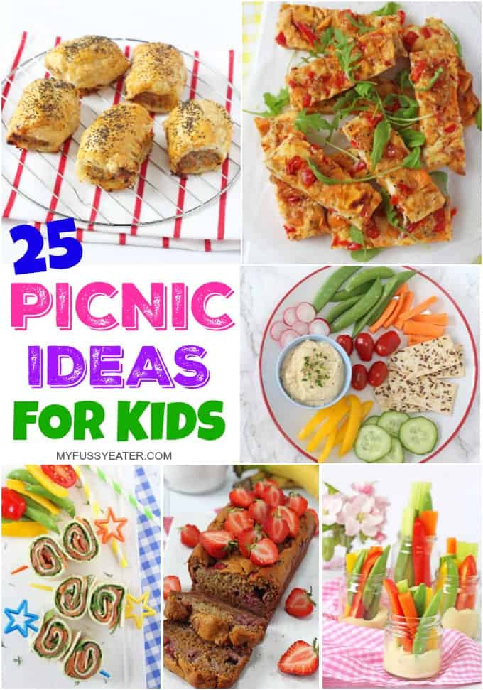 Picnic Dinner Ideas  25 of the Best Picnic Food Ideas for Kids My Fussy Eater
