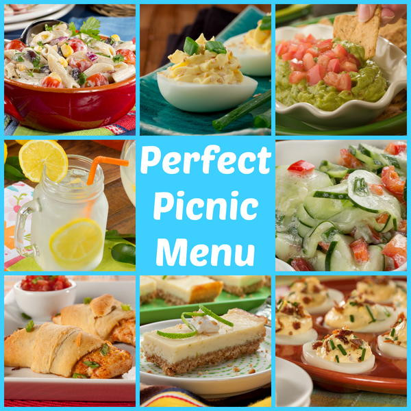 Picnic Dinner Ideas  Perfect Picnic Menu 53 Make Ahead Picnic Recipes