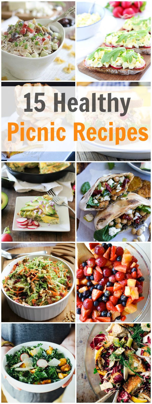 Picnic Dinner Ideas  15 Healthy Picnic Recipes