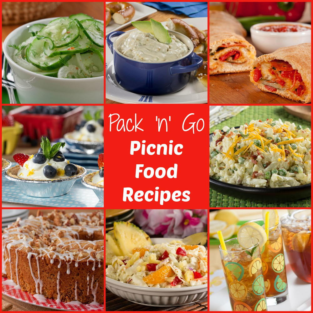 Picnic Dinner Ideas  Pack n Go Picnic Food Ideas Free eCookbook