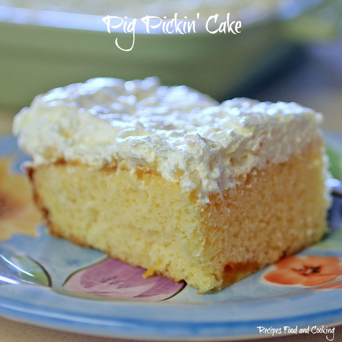 Pig Pickin Cake Recipe  Pig Pickin Cake