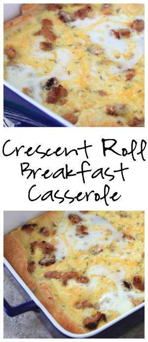 Pillsbury Crescent Roll Breakfast Casserole Recipes  1000 ideas about Crescent Roll Breakfast on Pinterest