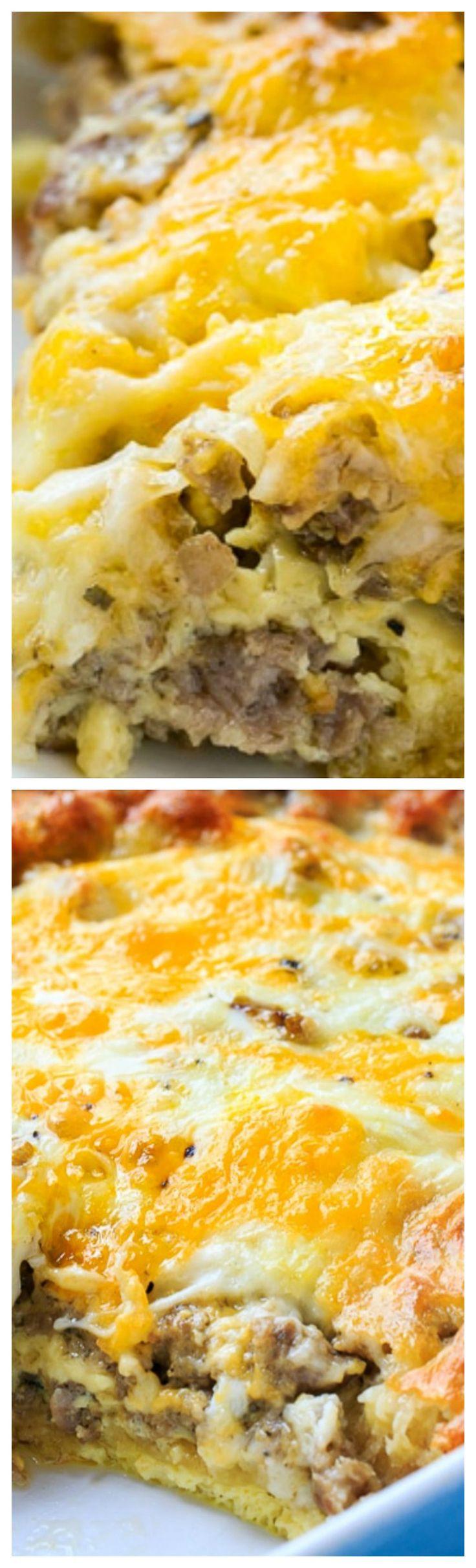 Pillsbury Crescent Roll Breakfast Casserole Recipes  Best 25 Crescent Roll Breakfast ideas only on Pinterest