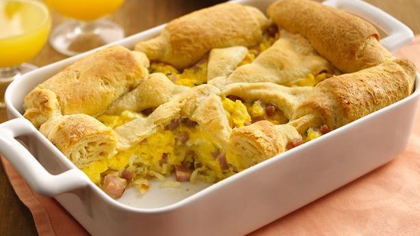 Pillsbury Crescent Roll Breakfast Recipes  Crescent Breakfast Recipes from Pillsbury