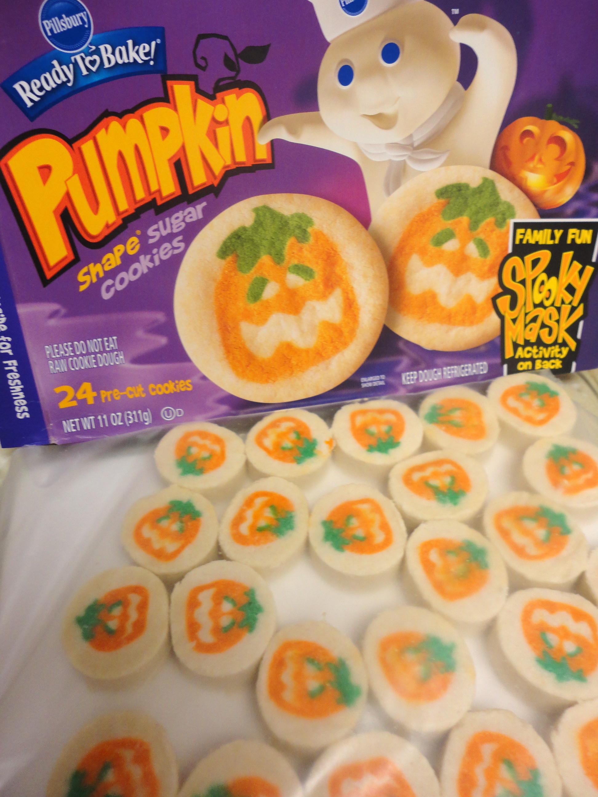 Pillsbury Halloween Cookies  Halloween Cookies