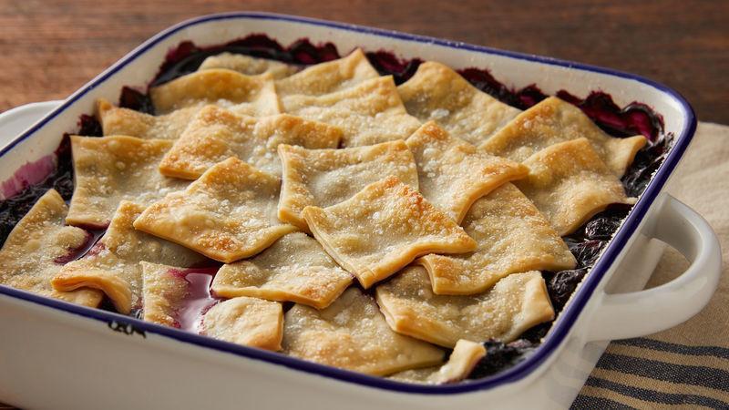 Pillsbury Pie Crust Recipes  blueberry cobbler with pillsbury pie crust