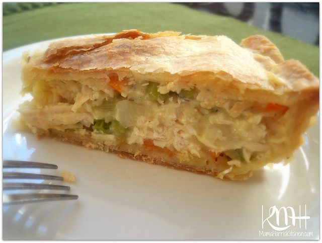 Pillsbury Pie Crust Recipes  From the Kitchen of Mama Harris Chicken Pot Pie made with