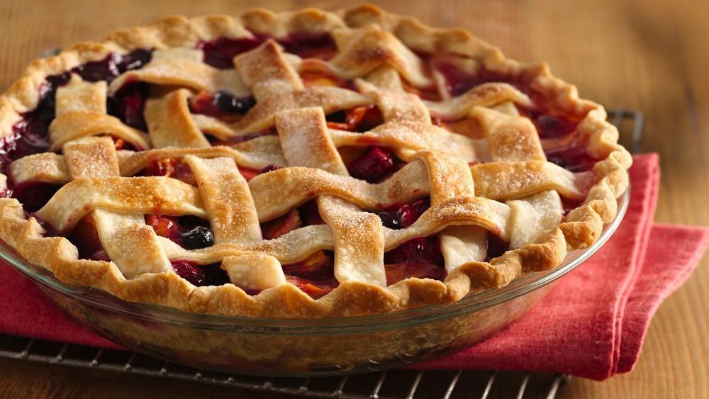 Pillsbury Pie Crust Recipes  Summer s Bounty Pie with Almond Crust recipe from
