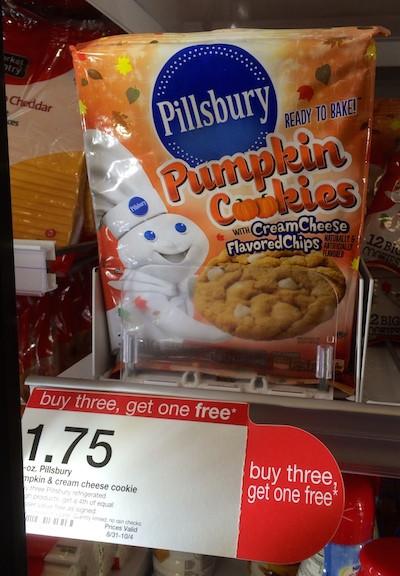 Pillsbury Pumpkin Cookies  Tar Pillsbury Pumpkin Cookies ly 6¢ Per Package