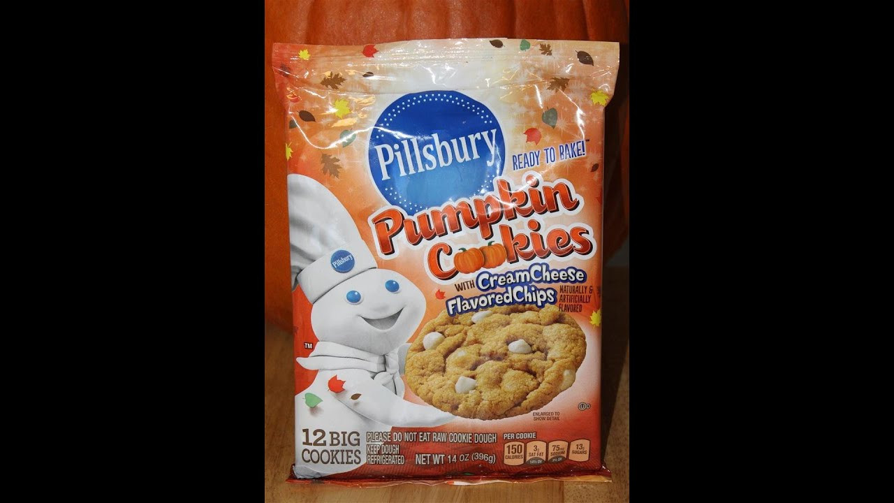 Pillsbury Pumpkin Cookies  Pillsbury Pumpkin Cookies With Cream Cheese Review